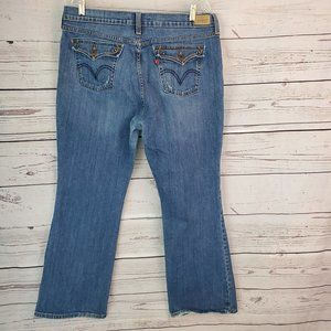 Levi's 515 Boot Cut  Jeans 16 Short Flap Pockets